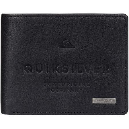 PENĚŽENKA QUIKSILVER MACK III - černá