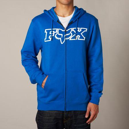 MIKINA FOX LEGACY FHEADX ZIP FLEECE - modrá