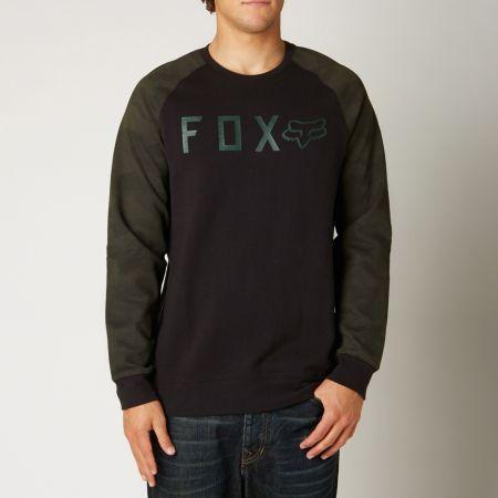 MIKINA FOX TRESSPASS FLEECE - černá