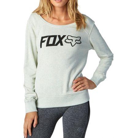 MIKINA FOX ACTUALIZE WMS - bílá