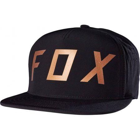 KŠILTOVKA FOX MOTH - černá