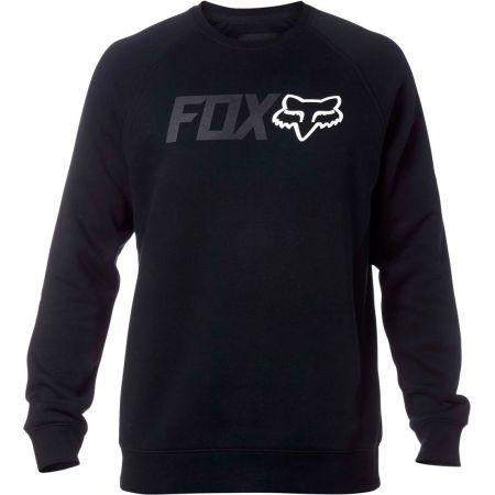 MIKINA FOX LEGACY CREW FLEECE - černá