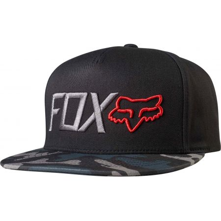 KŠILTOVKA FOX OBSESSED - černá
