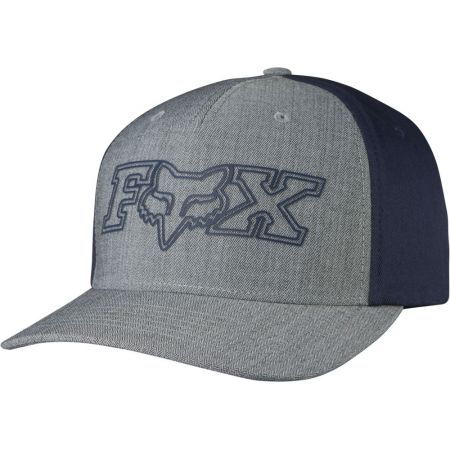 KŠILTOVKA FOX TRANSISTOR FLEXFIT - šedá