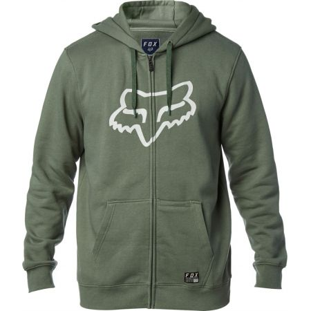 MIKINA FOX DISTRICT 3 ZIP FLEECE - zelená