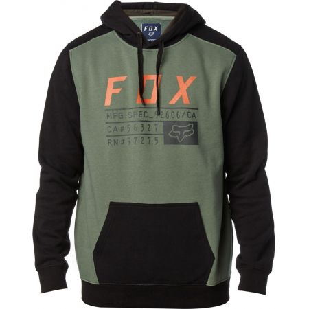 MIKINA FOX DISTRICT 3 PULLOVER FLEECE - zelená