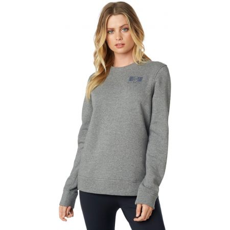 MIKINA FOX Good Timer Crew Fleece WMS - šedá