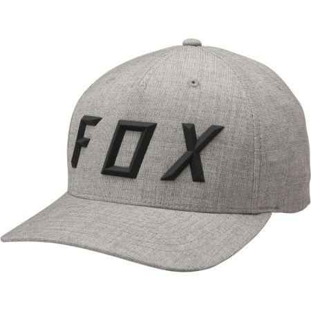 KŠILTOVKA FOX Sonic Moth Flexfit - šedá 2e435bb237