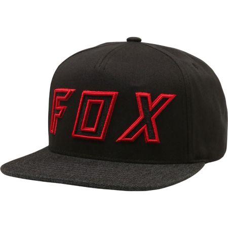 KŠILTOVKA FOX Posessed Snapback - černá