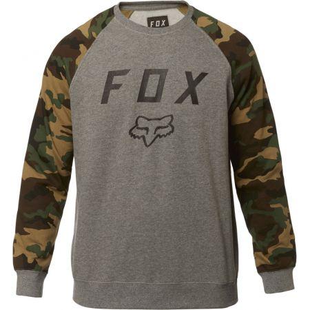a582e8c604a MIKINA FOX Legacy Crew Fleece - šedá
