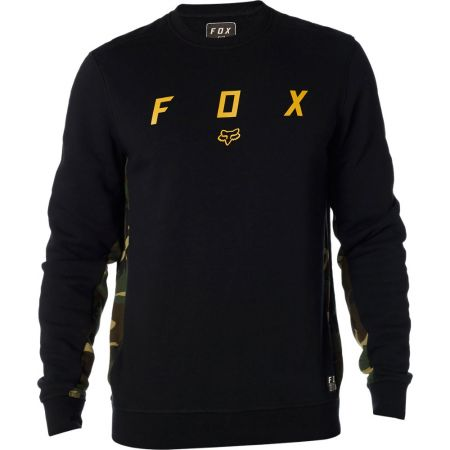 MIKINA FOX Harken Crew Fleece - černá