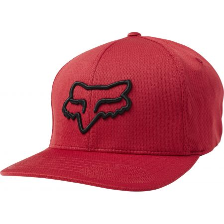 KŠILTOVKA FOX Lithotype Flexfit - červená
