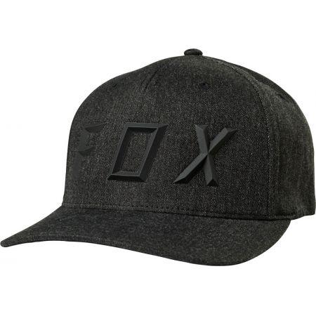 KŠILTOVKA FOX Sonic Moth Flexfit - černá