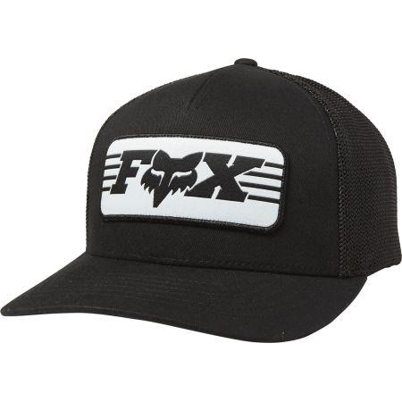 KŠILTOVKA FOX Muffler Flexfit - černá