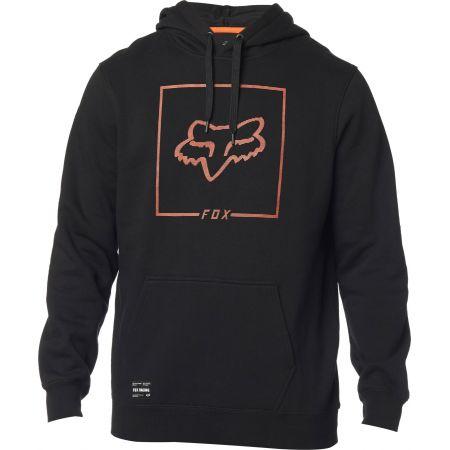 MIKINA FOX Chapped Pullover Fleece - černá