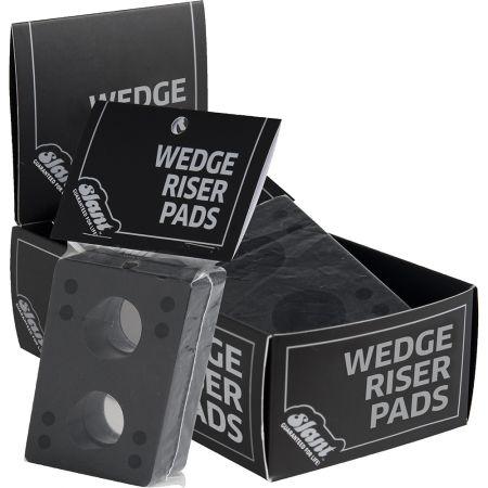 GLOBE SLANT WEDGE RISERS 12PK - černá