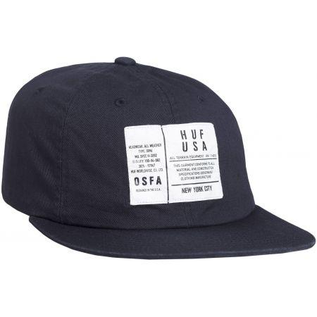 b12a9c599fc KŠILTOVKA HUF SPEC 6 PANEL - černá