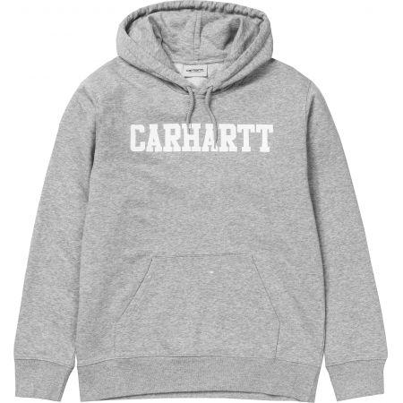MIKINA CARHARTT Hooded College - šedá