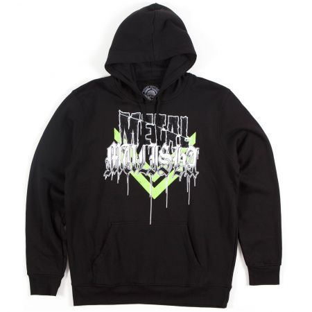 METAL MULISHA STACKED PO FLEECE MIKINA