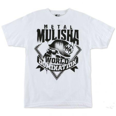 TRIKO METAL MULISHA MIST - bílá
