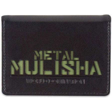 METAL MULISHA UNDERCOVER PENĚŽENKA - černá