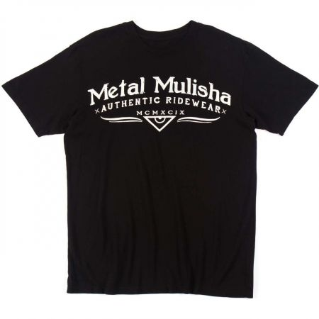 METAL MULISHA CLASSIC TRIKO - černá