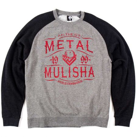 METAL MULISHA SCOTCH CREW RAGLAN MIKINA