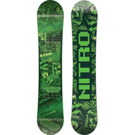 SNOWBOARD RIPPER KIDS GREEN - zelená
