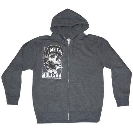MIKINA METAL MULISHA NO PEACE ZIP-UP