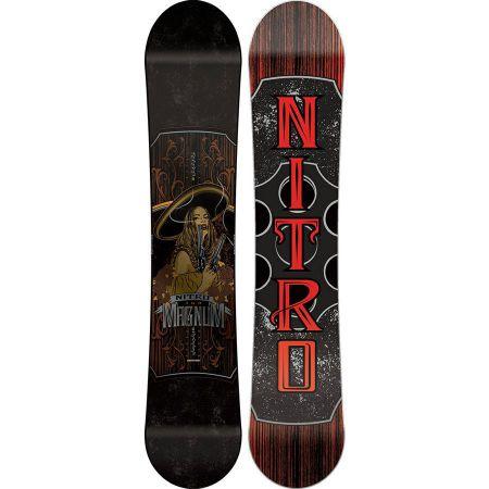 SNOWBOARD NITRO MAGNUM 16 - černá