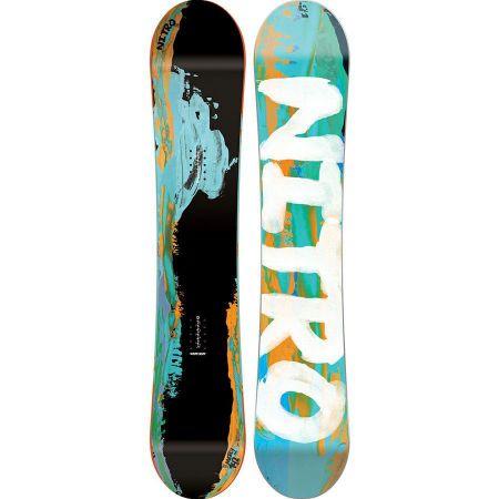 SNOWBOARD NITRO MERCY 16 WMS - černá