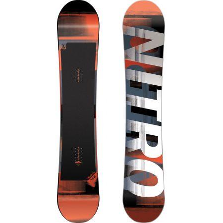 SNOWBOARD NITRO 17 TEAM WIDE GULLWING - černá