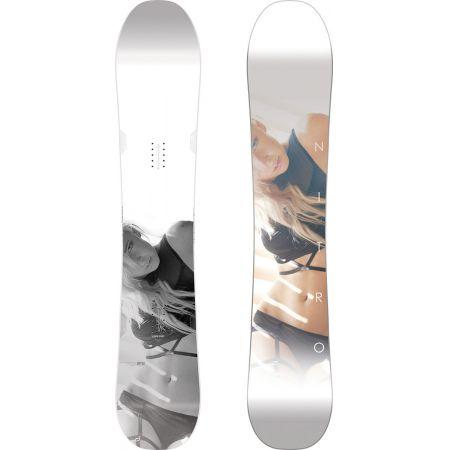 SNOWBOARD NITRO 17 SMP - bílá