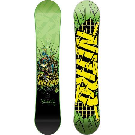 SNOWBOARD NITRO RIPPER KIDS GREEN 17 - zelená