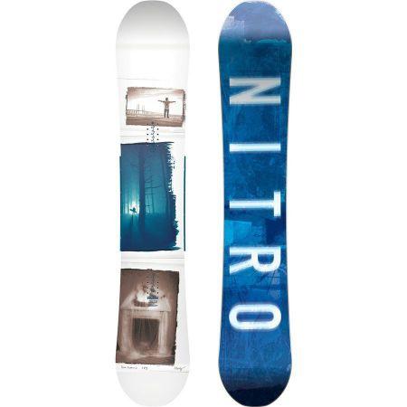 SNOWBOARD NITRO TEAM EXPOSURE GULLWIN 18 - bílá