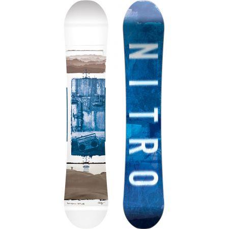 SNOWBOARD NITRO TEAM EXPOSURE WIDE GULLW - bílá