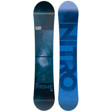 SNOWBOARD NITRO PRIME BLUE WIDE - námořnická modř