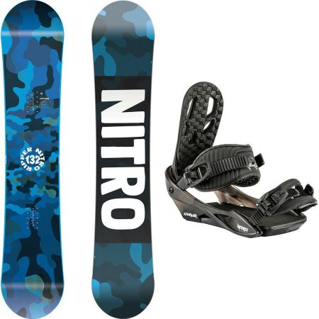 SNB KOMPLET NITRO RIPPER + CHARGER YOUTH