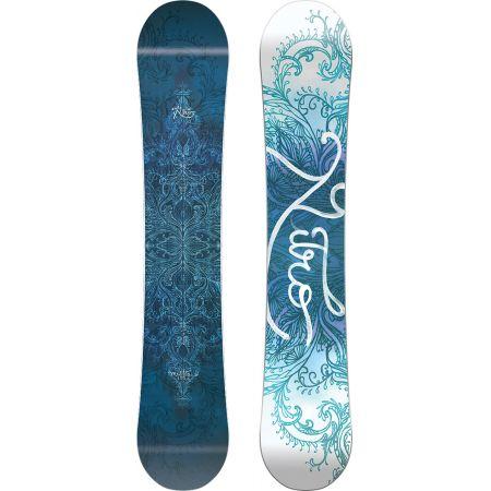 SNOWBOARD NITRO MYSTIQUE WMS - modrá