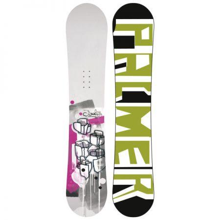 PALMER JADE TWIN SNOWBOARD - bílá