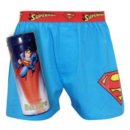 PÁNSKÉ TRENKY REPRESENT SUPERMAN - azurová