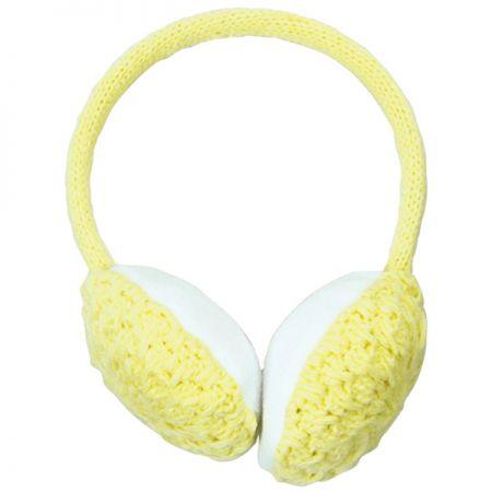 POWDER ROOM EAR MUFFS ČELENKA - žlutá
