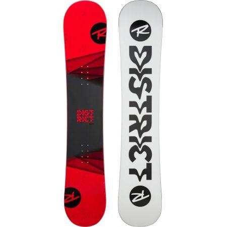 SNOWBOARD ROSSIGNOL DISTRICT BLACK/RED - červená