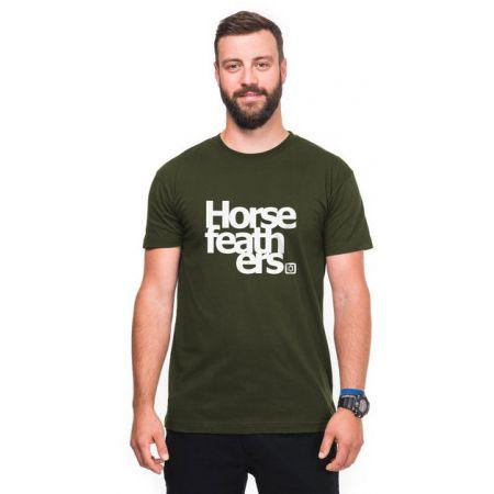 TRIKO HORSEFEATHERS THIRD - tmavě zelená
