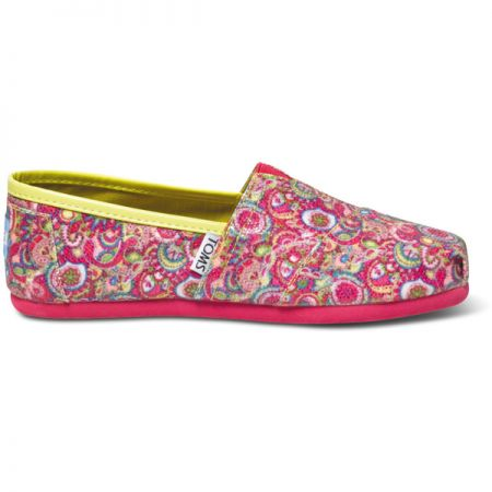 TOMS GLITTER YOUTH KIDS BOTY