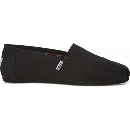 TOMS ON BLACK BOTY
