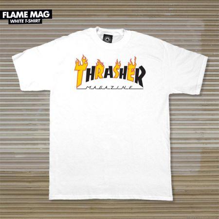 ccd4bf4bca TRIKO THRASHER FLAME MAG - bílá