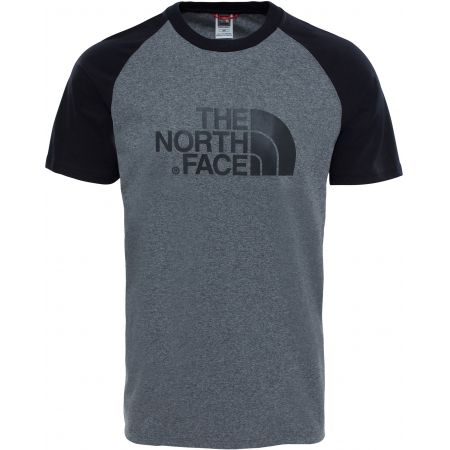 7682b25b180 TRIKO THE NORTH FACE RAGLAN EASY S S - šedá