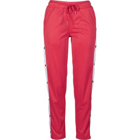 KALHOTY URBAN CLASSICS Button Up Track W - červená