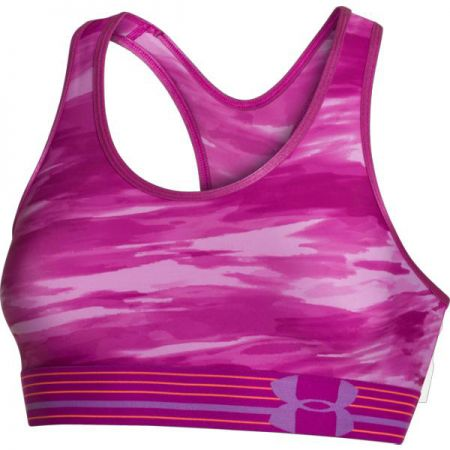 PODPRSENKA UNDER ARMOUR HEATGEAR APLHA P - růžová